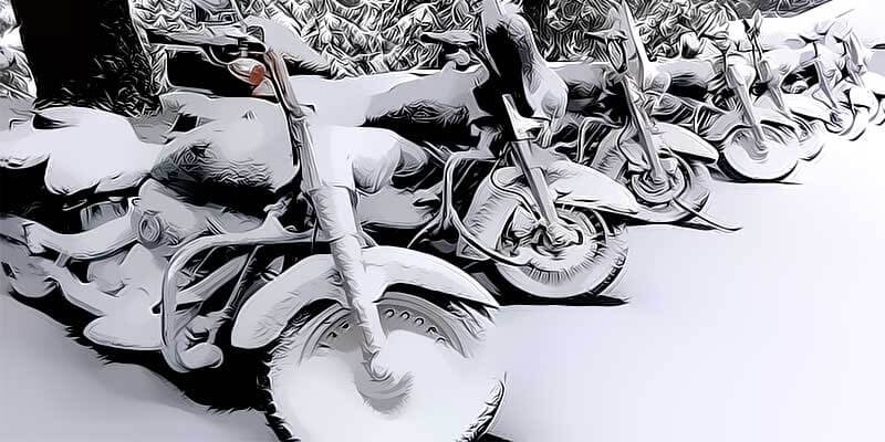 Зимовка мотоцикла