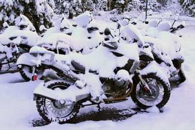 Хранение мотоцикла в зимний период