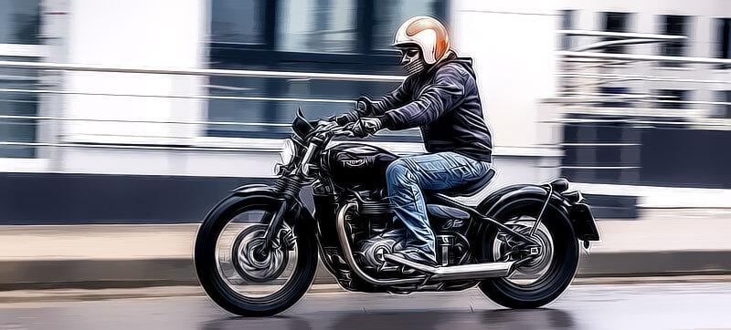 Правила мовидения мотоциклиста