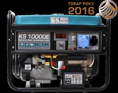 Генератор бензиновый Könner&Söhnen KS 10000E
