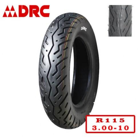 DRC 3.00-10 R-115 | Мотопокрышка скутер