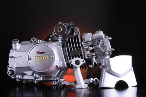 Двигатель ALPHA / DELTA - 125 (механика,алюминиевый цилиндр)