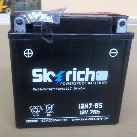 Аккумулятор Skyrich 12N7-BS 12V 7 Ah