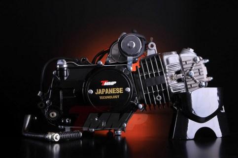 Двигатель ALPHA / DELTA - 125CC (автомат,алюминиевый цилиндр)