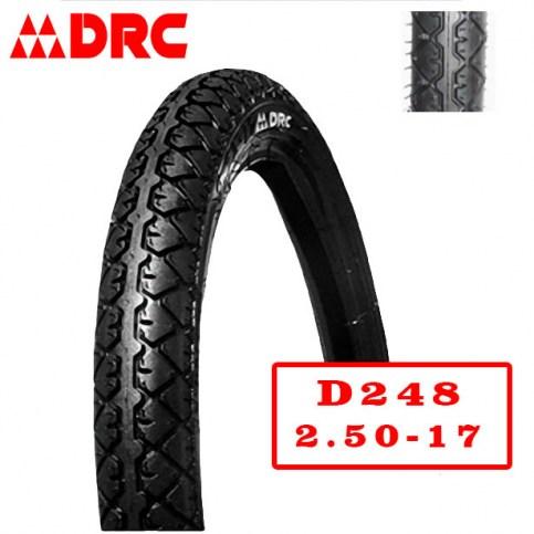 DRC 2.50-17 D-248 | Мотопокрышка мотоцикл/мопед