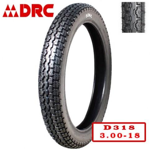 DRC 3.00-18 D-318 | Мотопокрышка мотоцикл/мопед