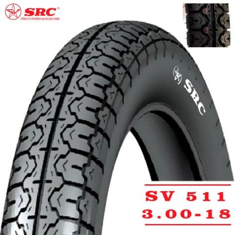 SRC 3,00-18 SV-511 | Мотопокрышка мотоцикл/мопед