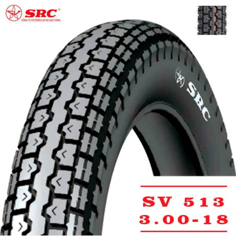 SRC 3,00-18 SV-513 | Мотопокрышка мотоцикл/мопед
