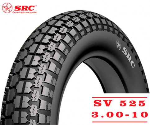 SRC 3.00-10 SV-525 | Мотопокрышка скутер