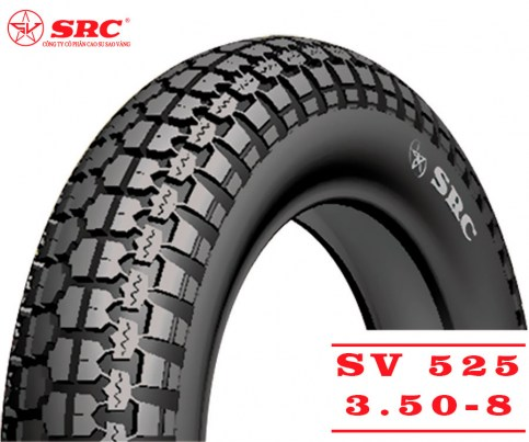 SRC 3.50-8 SV-525 | Мотопокрышка скутер