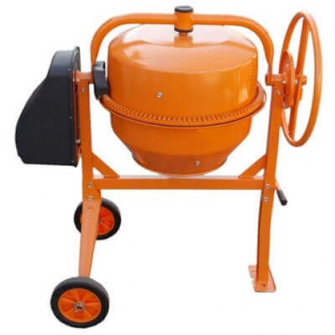 Бетономешалка Кентавр БМ-125СП (оранжевая)