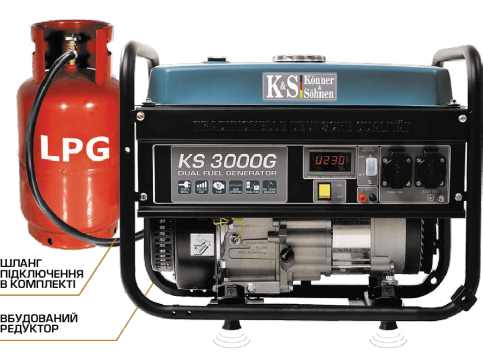 Генератор бензиновый Könner&Söhnen KS 3000-G
