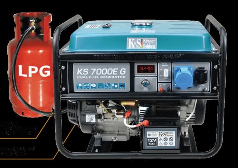 Генератор бензиновый Könner&Söhnen KS 7000E-G
