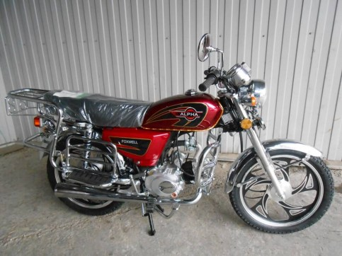 Мопед ALPHA LUX 110 cc | Foxwell