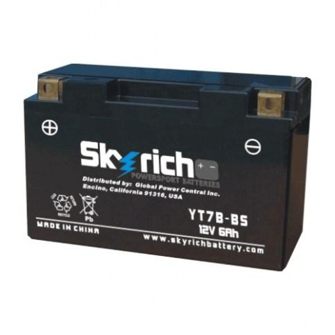 Аккумулятор Skyrich YT7B-BS 12V 6 Ah