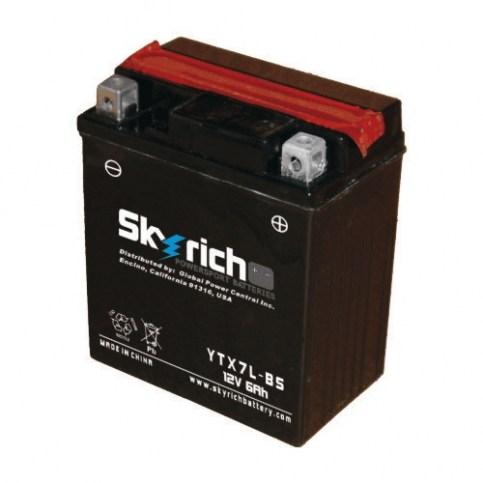 Аккумулятор Skyrich YTX7L-BS 12V 6 Ah