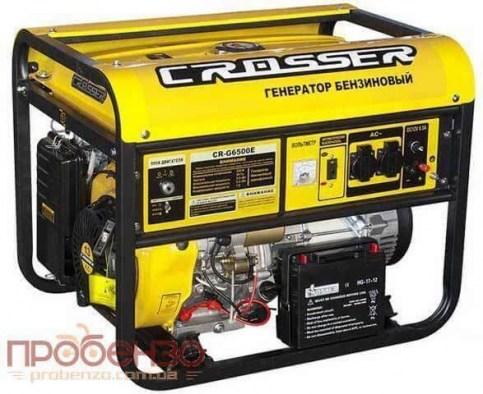 Crosser CR-G-GS6500 / Электро генератор