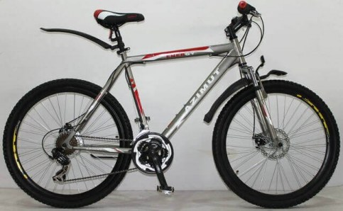 Azimut Energy 26/G F/R-D|Велосипед , горный, спорт