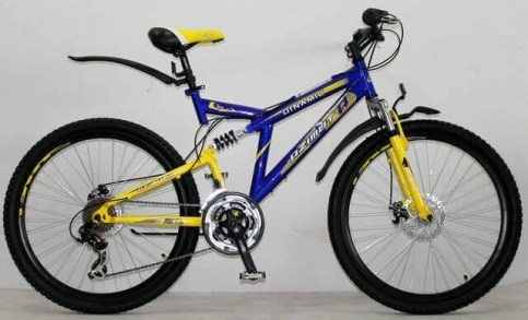 Azimut DINAMIC 26/G F/R D | Велосипед спортивный