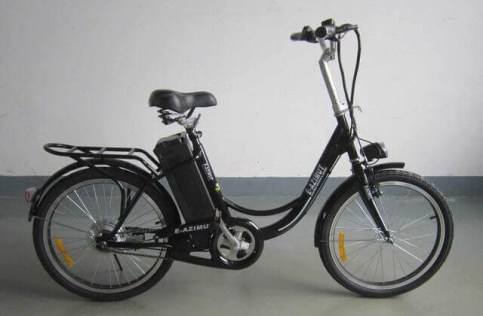 Электровелосипед  Azimut ELEGANCE
