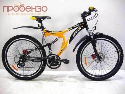 Azimut BLASTER G-FR/D/24*17* |Велосипед спортивный