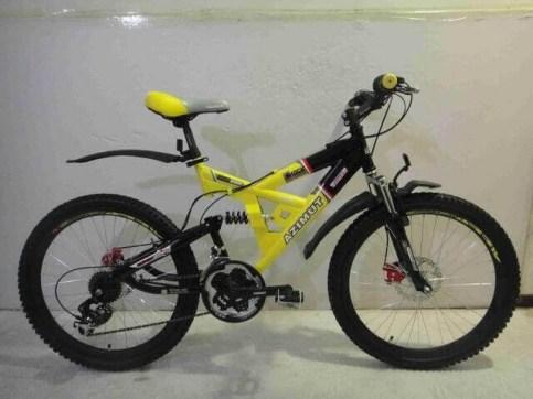 Azimut SHOCK G-FR-D/24*17* | Велосипед спортивный