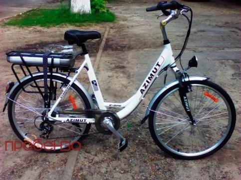 Электровелосипед Azimut E-bike Д