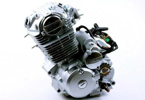 Двигатель для мотоцикла СВ-200СС (163FML)