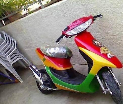 Как покрасить скутер, мотоцикл